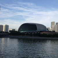 Photo taken at Esplanade - Theatres On The Bay by Neha A. on 2/2/2013