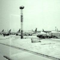 Photo taken at Terminal F (KBP) by Yevgen R. on 1/11/2013