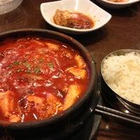 Photo taken at Hosoonyi Korean Restaurant by Rica M. on 12/15/2012