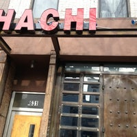 Photo taken at Hachi Asian Bistro by AndresT5 on 1/30/2013