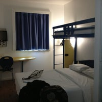Photo taken at ibis Budget Hotel by Helena S. on 1/16/2013