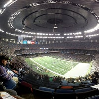Photo taken at Mercedes-Benz Superdome by Nathan S. on 12/30/2012