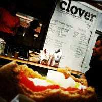 Photo taken at Clover Food Truck by Richard H. on 10/15/2012