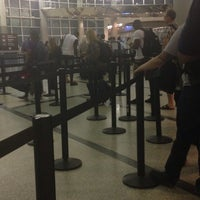 Photo taken at TSA Security Checkpoint by Derrick V. on 5/27/2014