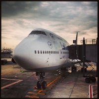 Photo taken at Newark Liberty International Airport (EWR) by Victor P. on 7/29/2013