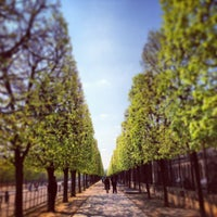 Photo taken at Tuileries Garden by Philip S. on 4/22/2013