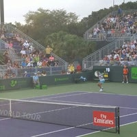 Photo taken at Grandstand Court - Sony Ericsson Open by Михаил А. on 3/25/2016