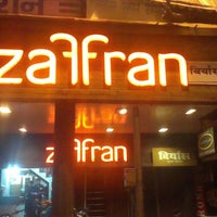 Photo taken at Zaffran by Anushka B. on 5/15/2013
