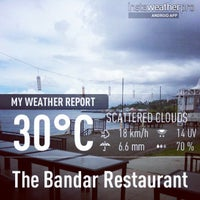 Photo taken at The Bandar Restaurant by LynviaYinthze on 4/11/2013