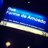 Photo taken at Rua Farme de Amoedo by Marcílio A. on 9/13/2013