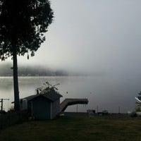 Photo taken at Summit Lake by Aaron H. on 10/18/2012