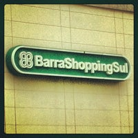 Photo taken at BarraShoppingSul by Nanda M. on 1/1/2013