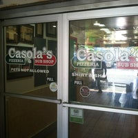 Photo taken at Casola's Pizzeria and Sub Shop by gno m. on 1/10/2013