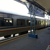 Photo taken at Stesen Keretapi Kluang by Nizar Iskandar b. on 11/21/2014