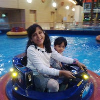 Photo taken at Aquaplay by Fashan A. on 12/31/2014