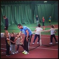 Photo taken at Kronprinsens Tennishall & Tenniscenter by Mike C. on 4/6/2013