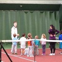Photo taken at Kronprinsens Tennishall & Tenniscenter by Mike C. on 1/26/2013