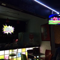 Photo taken at WHAAM! Bar by Mikitzin Y. on 1/28/2014