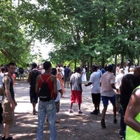 Photo taken at Fort Greene Park by LyDale J. on 7/7/2013