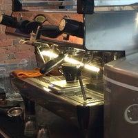 Photo taken at Pourquoi Pas Espresso Bar by John K. on 8/19/2014