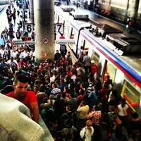 Photo taken at Estação Brás (CPTM) by Laís S. on 2/22/2013