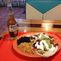 Photo taken at Blue Water Taco Grill by Paul M. on 4/20/2013