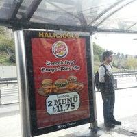 Photo taken at Halıcıoğlu Metrobüs Durağı by Caner K. on 10/30/2012