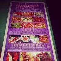 Photo taken at Sakura Seafood Buffet by Annie W. on 7/15/2014