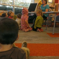 Photo taken at Wake Forest Community Library by Nicole H. on 11/6/2013