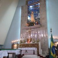 Photo taken at Igreja Nossa Senhora de Fátima e São Jorge by Daniele S. on 7/24/2013
