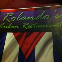 Photo taken at Rolando's Cuban Restaurant by Sweet Vintage L. on 11/9/2012