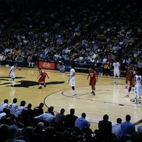 Photo taken at Coors Events Center by Brad G. on 1/11/2013