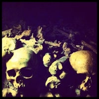 Photo taken at Catacombs of Paris by Death ☠. on 11/4/2012