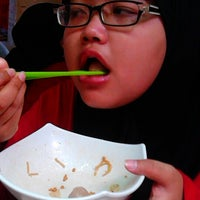 Photo taken at Mie Ayam Bakso AA by DeEsWeTe on 1/5/2014