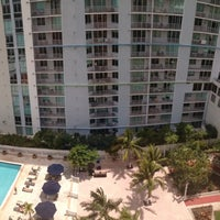 Photo taken at InterContinental Miami by Abdullah S. A. on 7/26/2013
