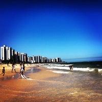 Photo taken at Praia de Itaparica by Márcio A. on 12/17/2012