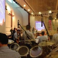 Photo taken at SJSM - Christ Sanctuary by Stanley W. on 9/29/2013