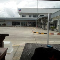 Photo taken at Chevron Hangar by สมชาย ม. on 4/12/2013