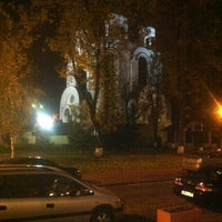 Photo taken at Кафедральный Собор Христа Спасителя by Elena K. on 10/24/2012