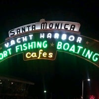 Photo taken at Drive in at the Santa Monica Pier by Kelly G. on 10/27/2012