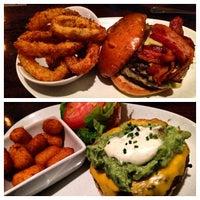 Photo taken at 5 Napkin Burger by Melanie R. on 5/11/2013