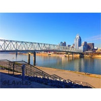Photo taken at Brent Spence Bridge by Lester A. on 11/26/2012