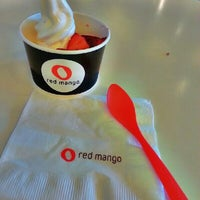 Photo taken at Red Mango by Michelle on 2/16/2013