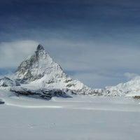 Photo taken at Matterhorn Glacier Paradise by Jüri K. on 2/12/2013