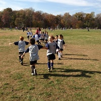 Photo taken at Stoddert Soccer @ Carter Baron Fields by Shari G. on 11/10/2012