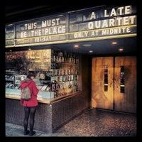 Photo taken at Landmark's Sunshine Cinema by Fabrice G. on 11/25/2012