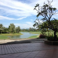 Photo taken at Mission Hills Phuket Golf Resort And Spa by benkhondee on 12/4/2012