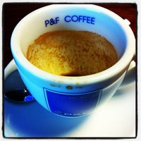 Photo taken at P&F Coffee by Rangsan J. on 1/9/2013