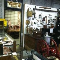 Photo taken at Old Sled Works Antique & Craft Market by Kevin L. on 12/8/2012
