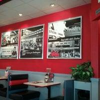 Photo taken at Steak 'n Shake by Liz G. on 7/16/2012